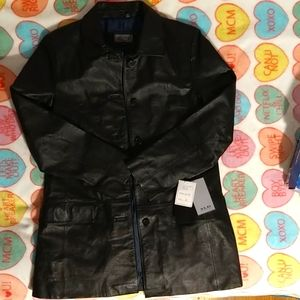 XLD Excelled Authentic Leather Jacket rn#20849